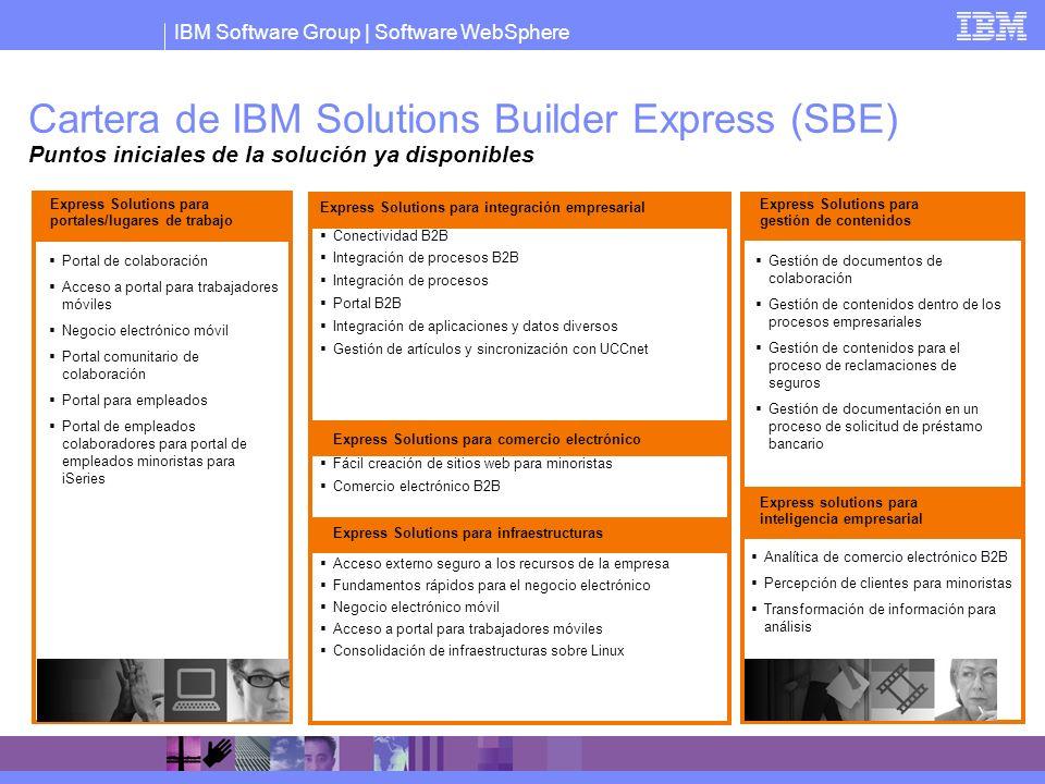 IBM Software Group   Software WebSphere Portal de colaboración Acceso a portal para trabajadores móviles Negocio electrónico móvil Portal comunitario