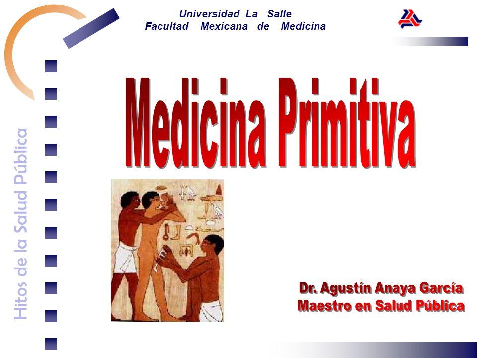 Hitos de la Salud Pública Universidad La Salle Facultad Mexicana de Medicina La medicina monástica Hasta mediados de la alta Edad Media la medicina se ejerció principalmente en los monasterios.