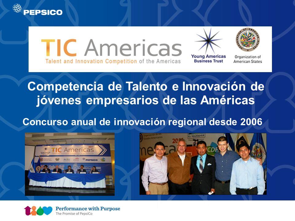 Document Title Goes Here4 Competencia de Talento e Innovación de jóvenes empresarios de las Américas Concurso anual de innovación regional desde 2006