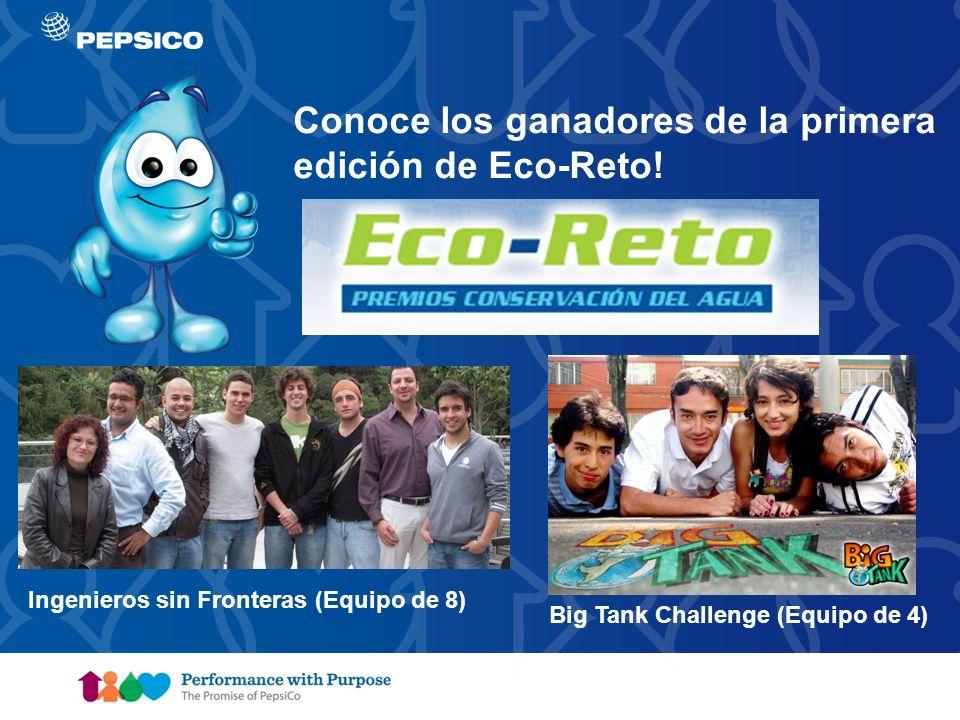 Document Title Goes Here7 Big Tank Challenge (Equipo de 4) Ingenieros sin Fronteras (Equipo de 8) Conoce los ganadores de la primera edición de Eco-Re