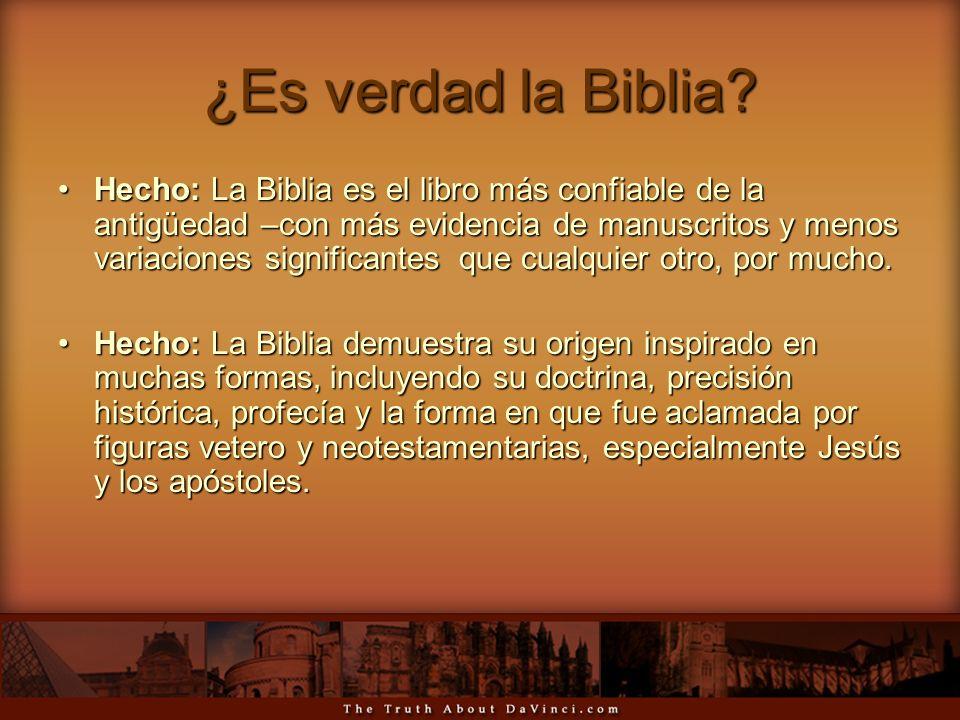¿Es verdad la Biblia? Hecho: La Biblia es el libro más confiable de la antigüedad –con más evidencia de manuscritos y menos variaciones significantes