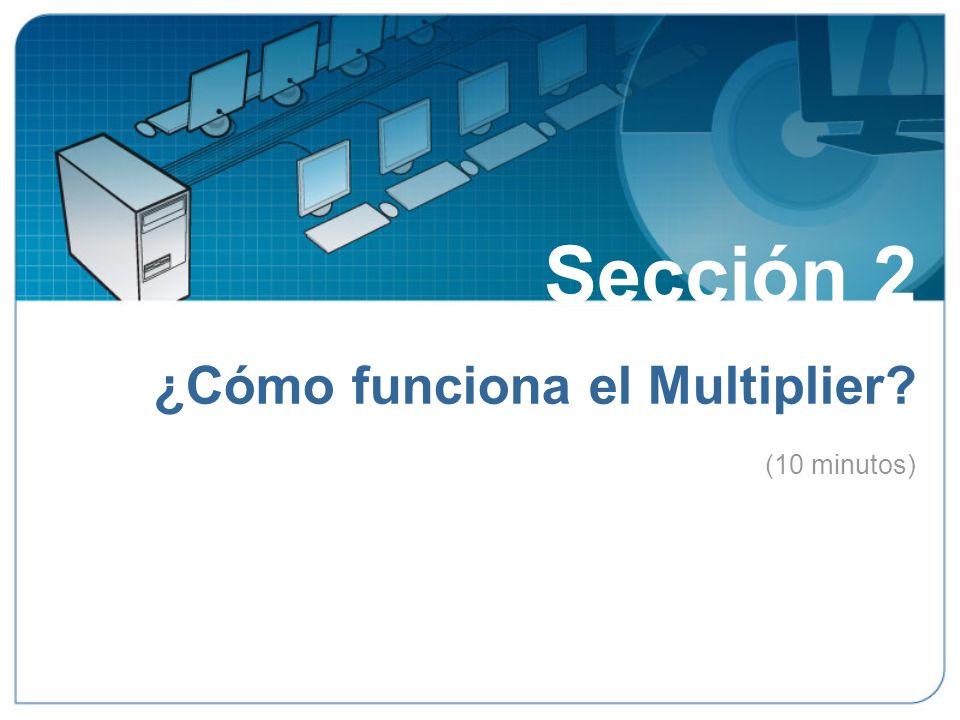 Sección 2 ¿Cómo funciona el Multiplier.