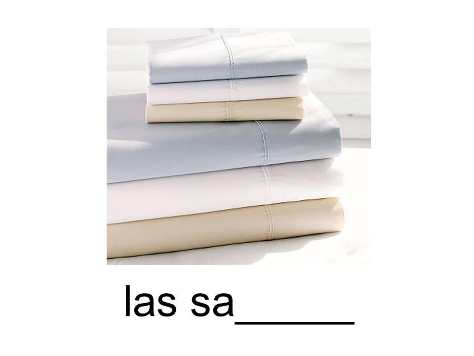 las sa_____