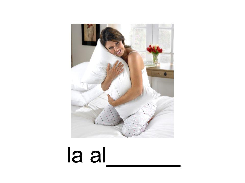 la al______