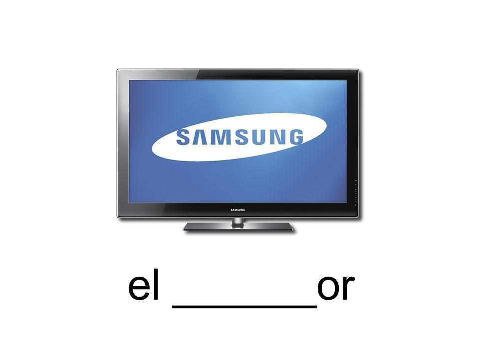 el ______or