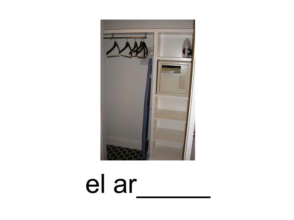 el ar_____