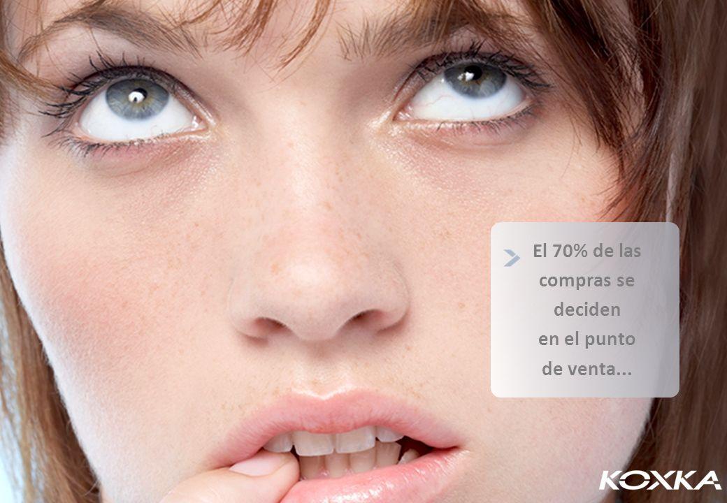 El 70% de las compras se deciden en el punto de venta...