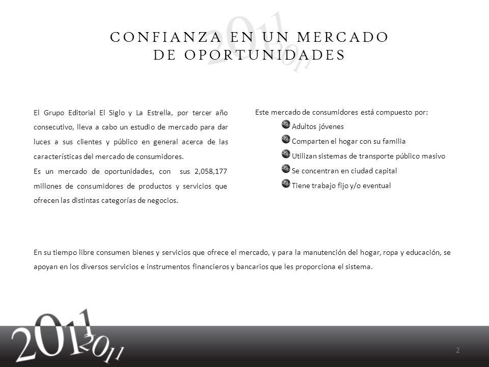 El Grupo Editorial El Siglo y La Estrella, por tercer año consecutivo, lleva a cabo un estudio de mercado para dar luces a sus clientes y público en g
