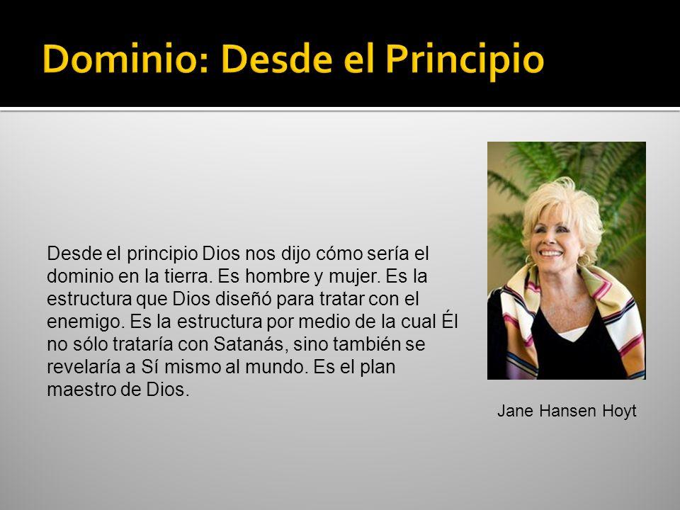 Desde el principio Dios nos dijo cómo sería el dominio en la tierra. Es hombre y mujer. Es la estructura que Dios diseñó para tratar con el enemigo. E