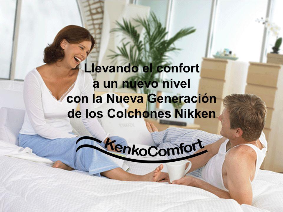 Llevando el confort a un nuevo nivel con la Nueva Generación de los Colchones Nikken