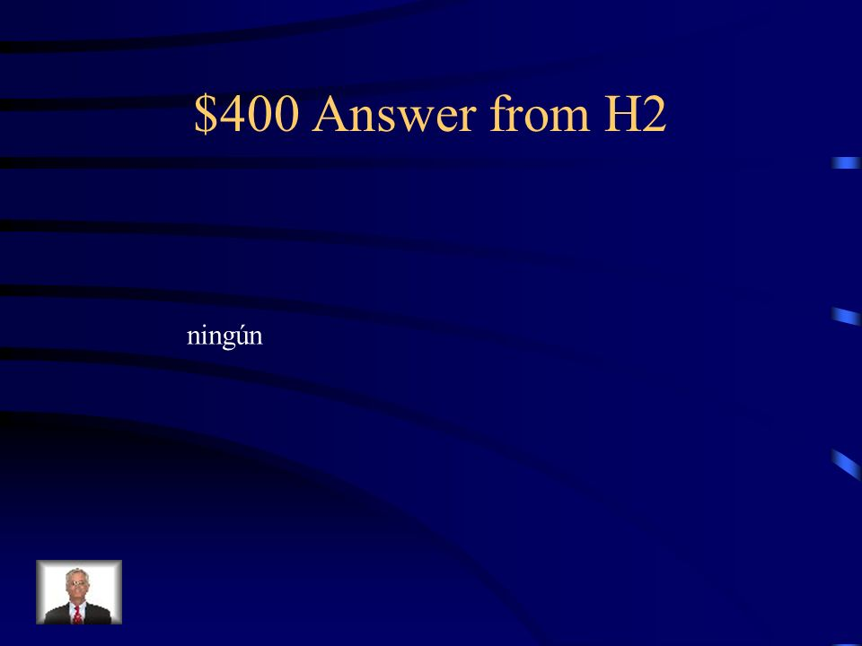 $400 Question from H2 No veo ________ libro interesante en la biblioteca.