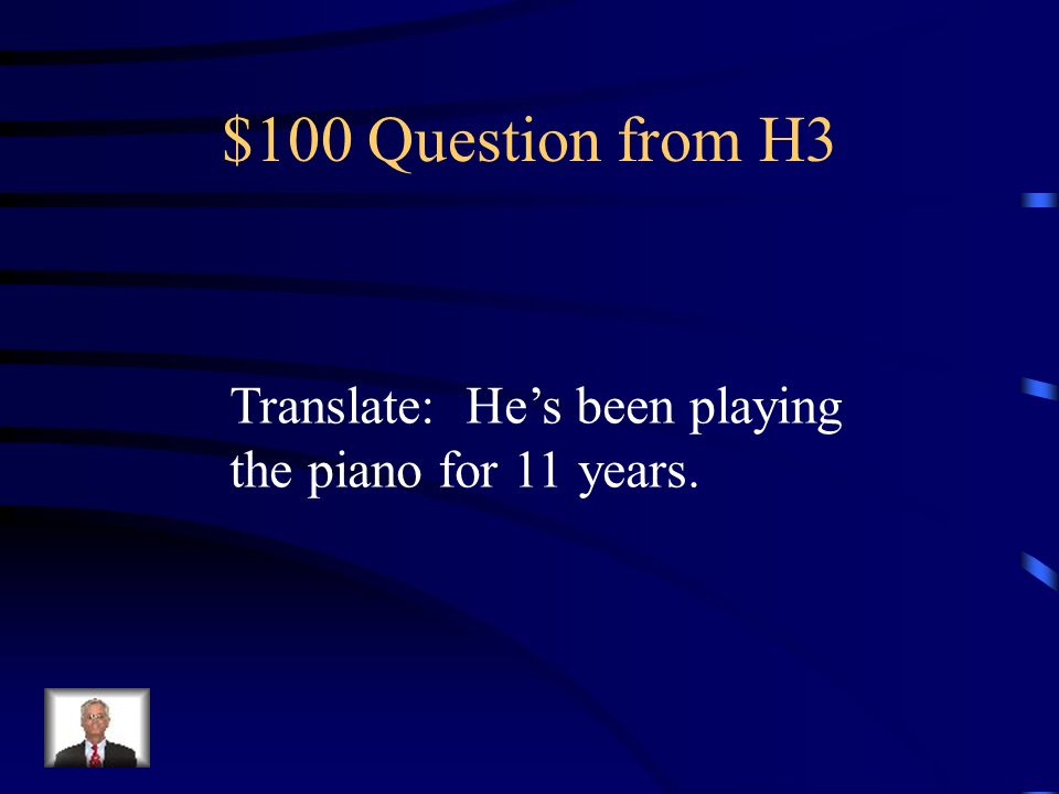 $500 Answer from H2 ninguna