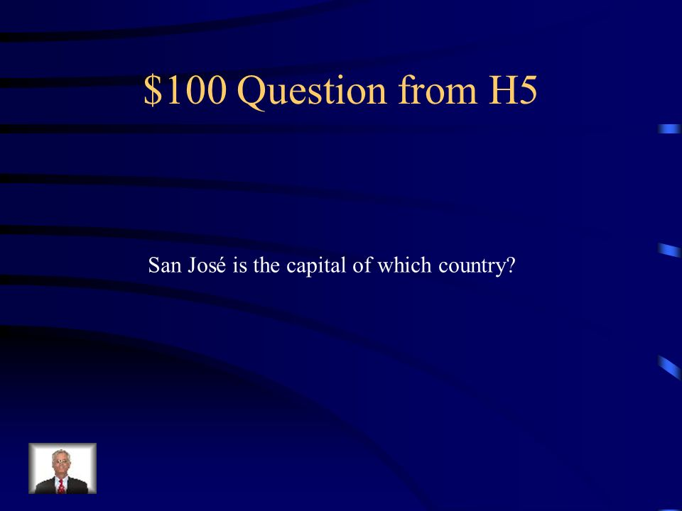 $500 Answer from H4 sino, también