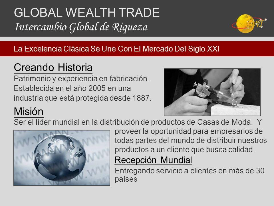 Creando Historia Patrimonio y experiencia en fabricación. Establecida en el año 2005 en una industria que está protegida desde 1887. Misión Ser el líd