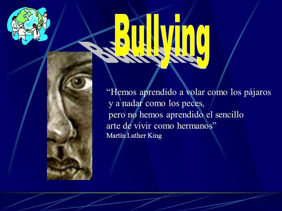 Existe la conciencia que el tema de violencia se encuentra en los colegios.