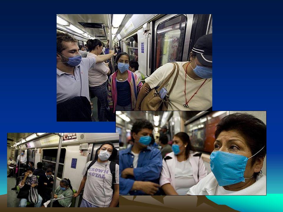 Influenza Complicaciones de la Influenza: –3-5% Otitis media. –Neumonía viral: infiltrados intersticiales. –Descompensación de EPOC y Asma. Mas común