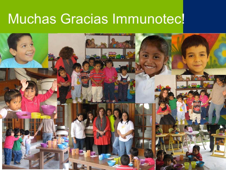Muchas Gracias Immunotec!