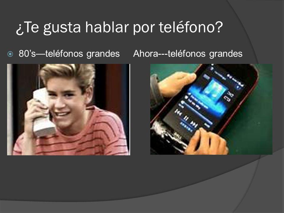¿Te gusta hablar por teléfono? 80steléfonos grandes Ahora---teléfonos grandes