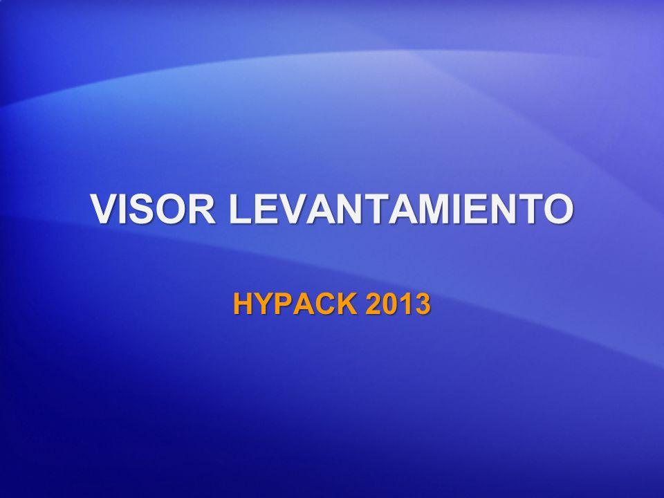 VISOR LEVANTAMIENTO HYPACK 2013