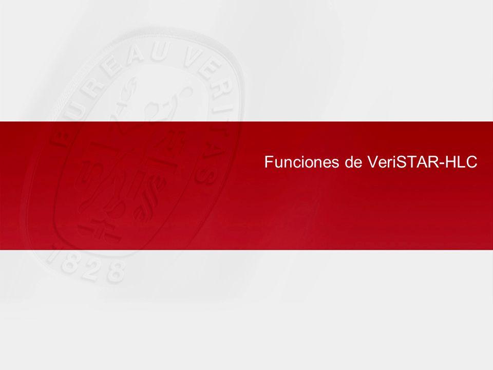 Funciones de VeriSTAR-HLC