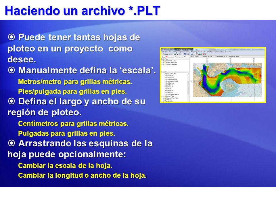 Haciendo un archivo *.PLT Puede tener tantas hojas de ploteo en un proyecto como desee. Puede tener tantas hojas de ploteo en un proyecto como desee.