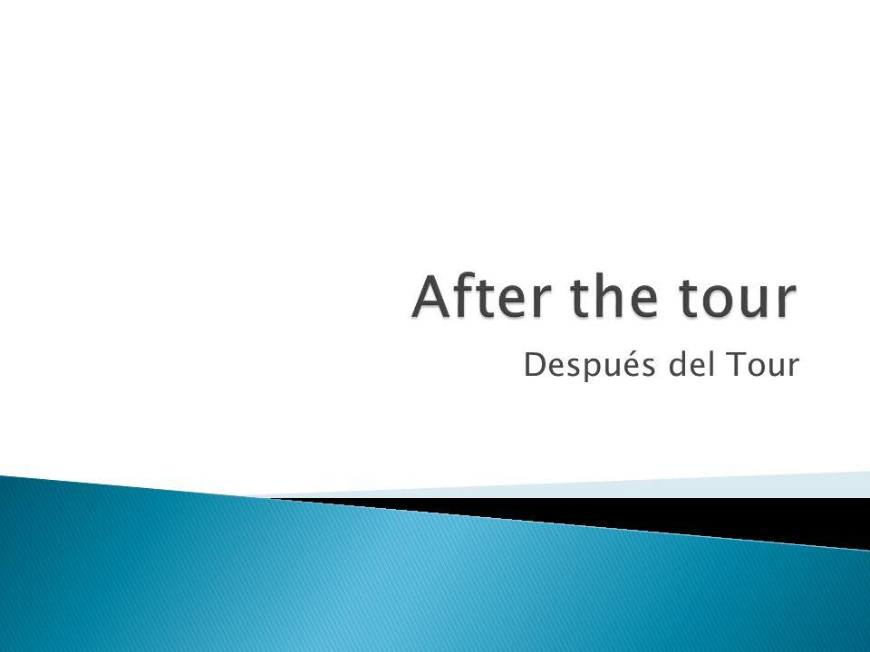 Después del Tour