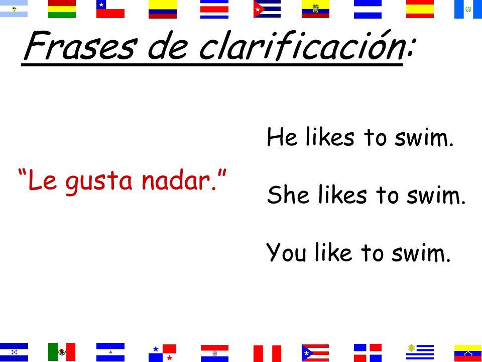 Gusta=singular nouns =infinitives Gusta=singular nouns =infinitives Gustan=plural nouns