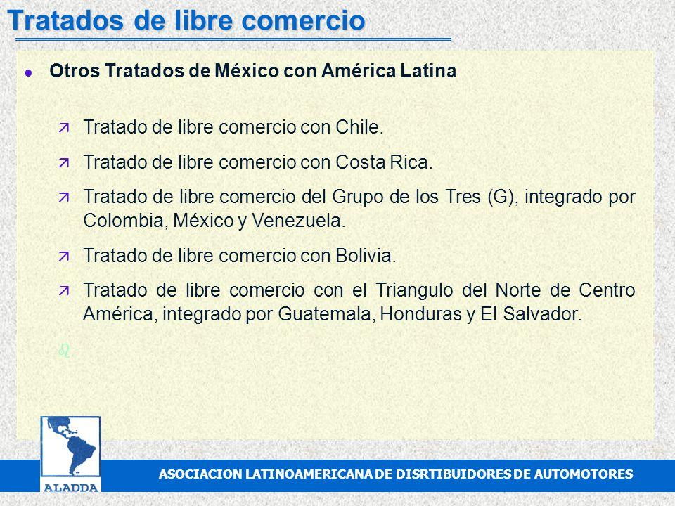 ASOCIACION MEXICANA DE DISTRIBUIDORES DE AUTOMOTORES, A.C. Tratados de libre comercio l Acuerdo parcial del sector automotor entre México y Brasil ä T