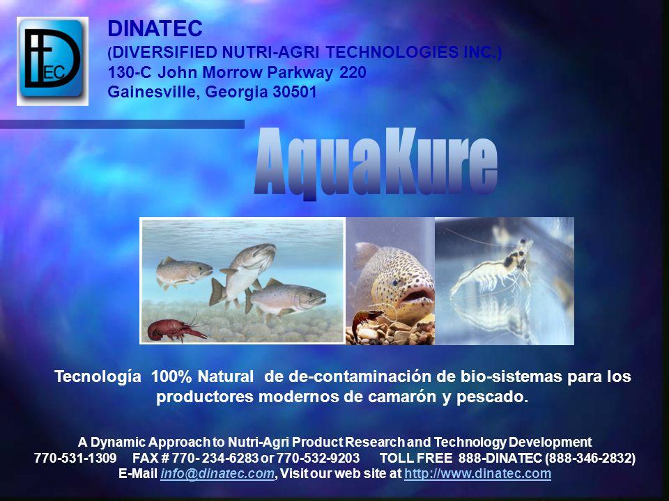 Tecnología 100% Natural de de-contaminación de bio-sistemas para los productores modernos de camarón y pescado. A Dynamic Approach to Nutri-Agri Produ