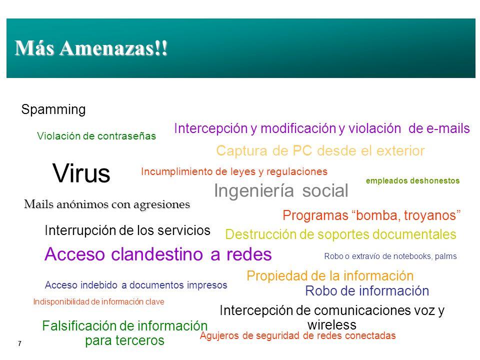 18 ¿ISO/IEC 27001 – ISO/IEC 17799.