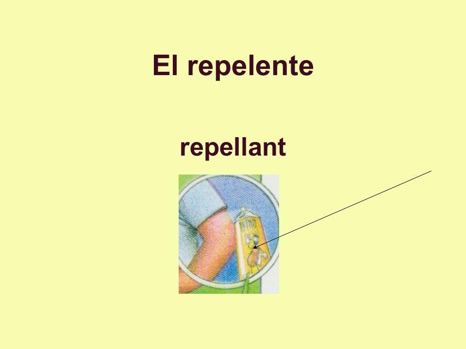 El repelente repellant