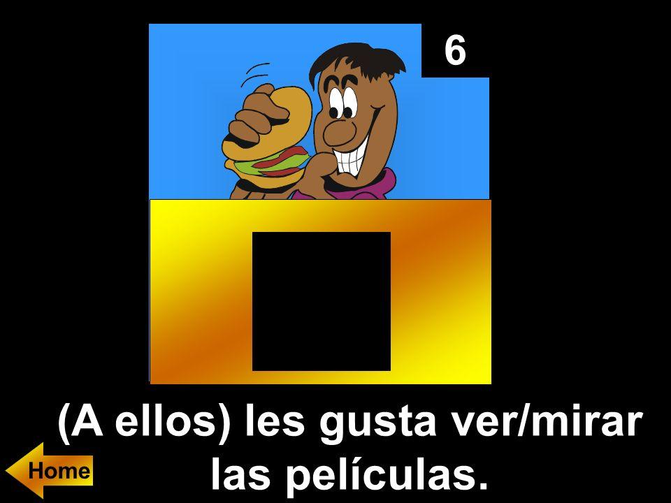7 En español: You like volleyball.