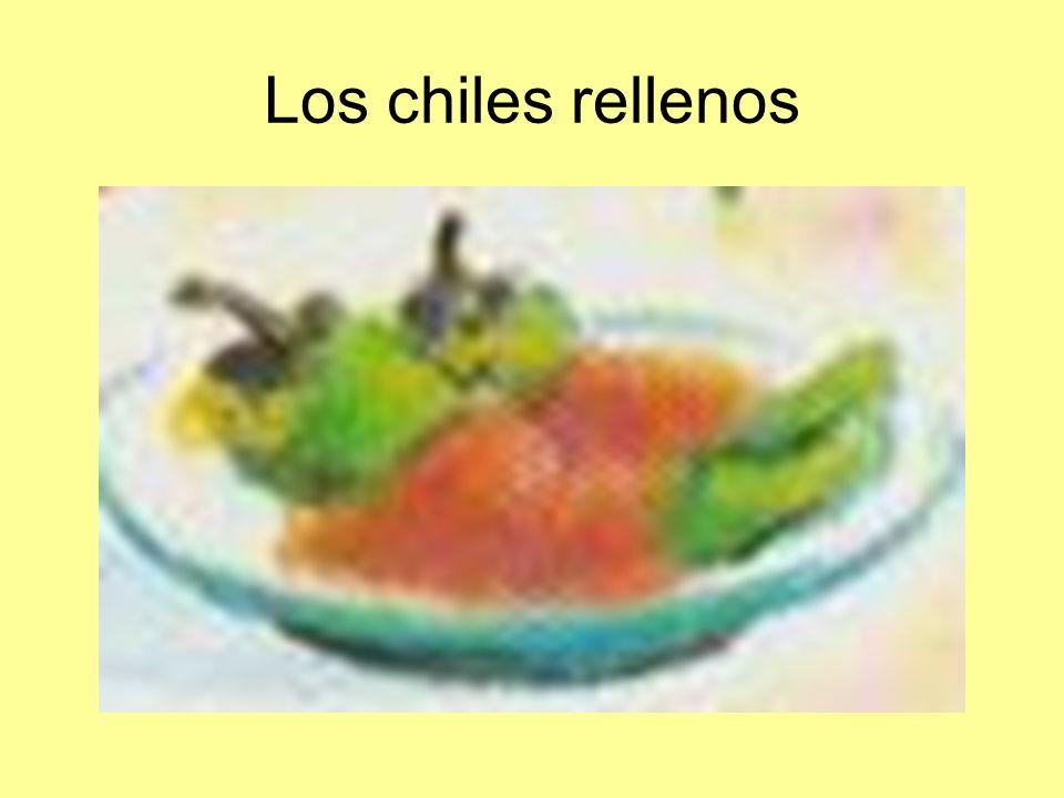 Los chiles rellenos