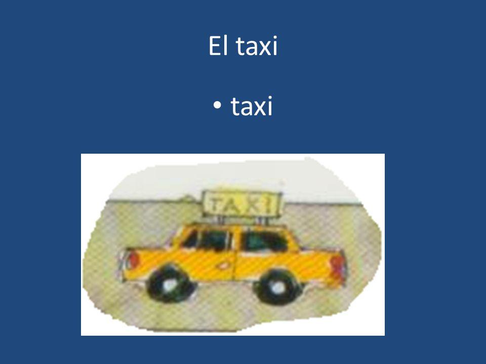 El taxi taxi