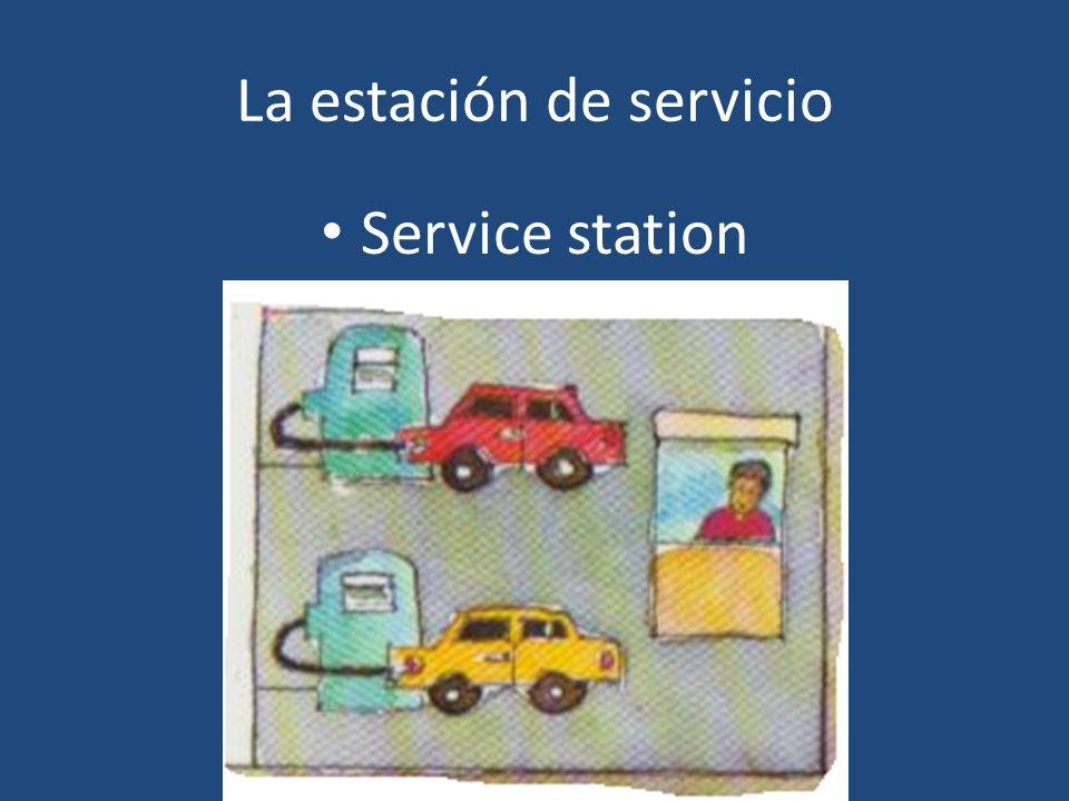 La estación de servicio Service station