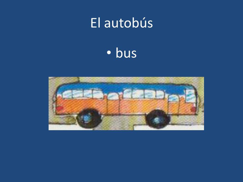 El autobús bus