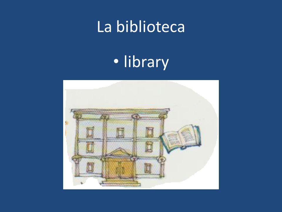 La biblioteca library