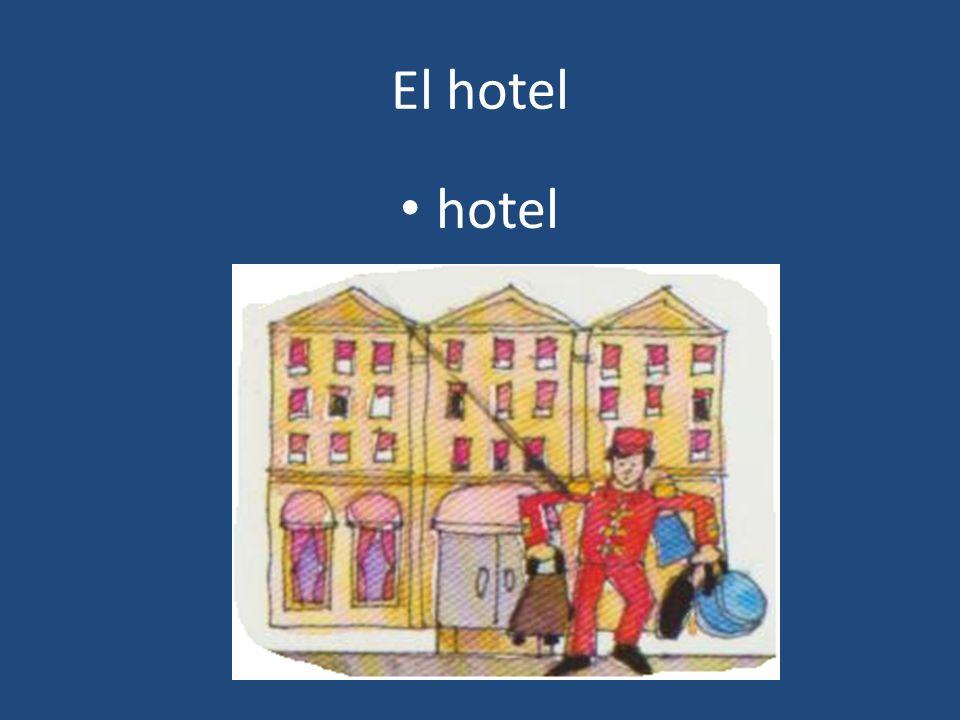 El hotel hotel