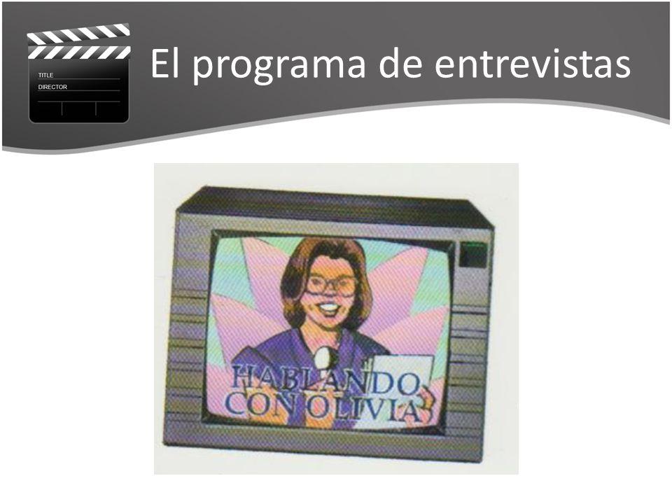 El programa de entrevistas