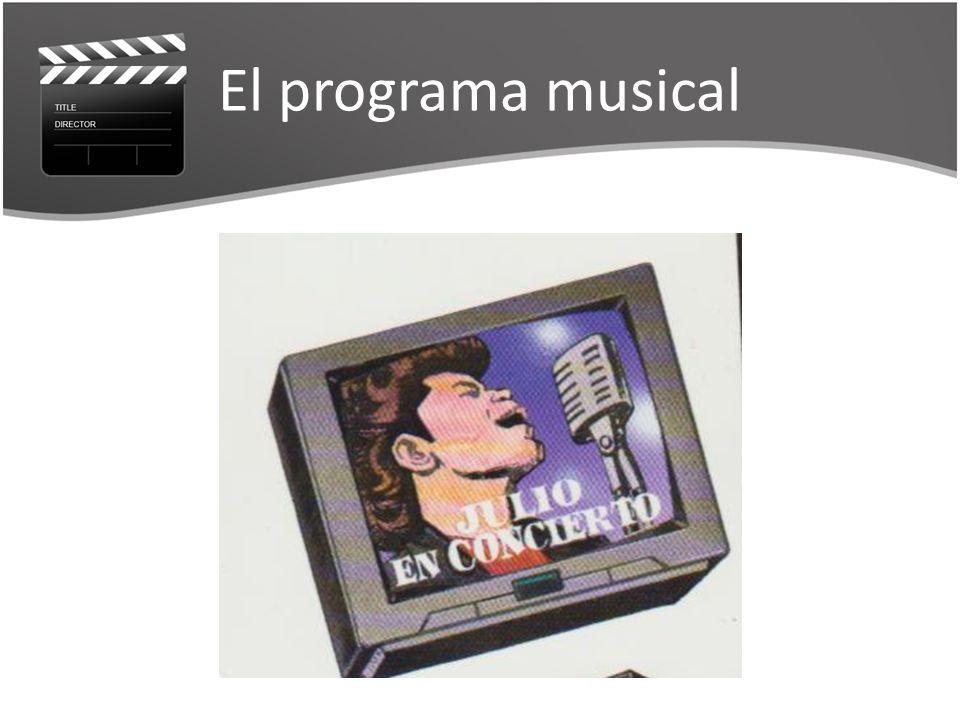 El programa musical