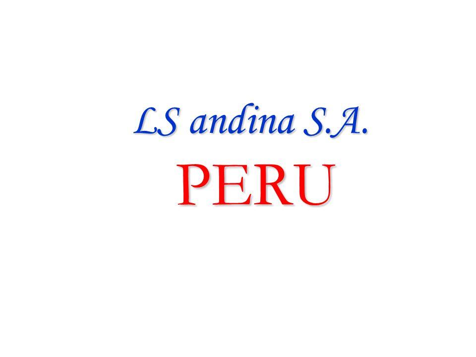 LS andina S.A. PERU LS andina S.A. PERU