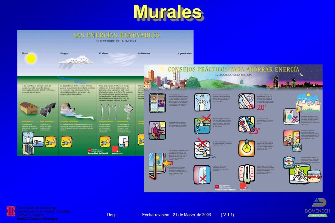 Reg.: - Fecha revisión: 21 de Marzo de 2003 - ( V 1.1)MuralesMurales