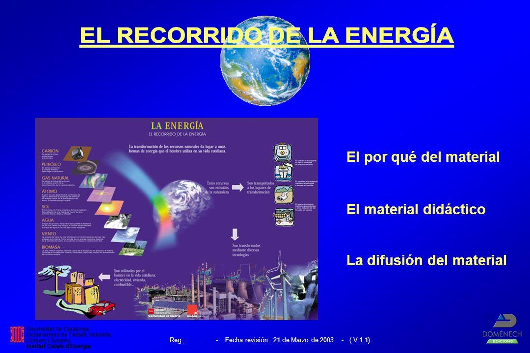 El por qué del material El material didáctico La difusión del material