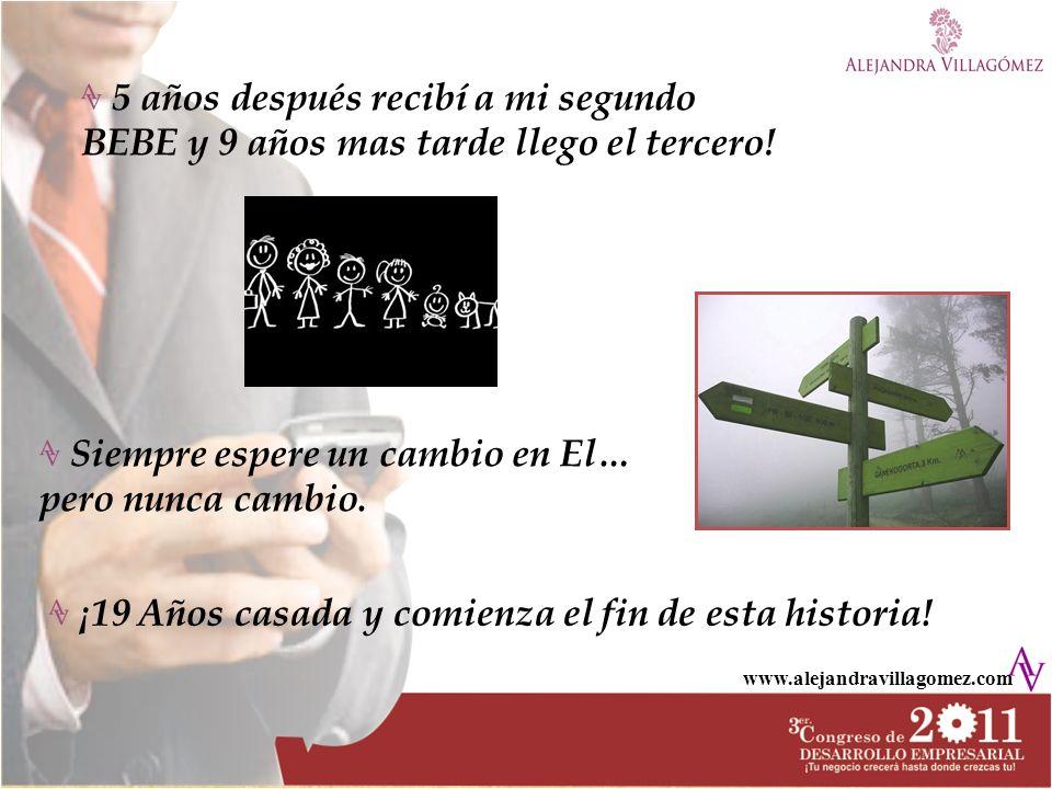 www.alejandravillagomez.com Mi negocio se convirtió en una gran EMPRESA Abrí mi segunda sucursal y después la tercera….