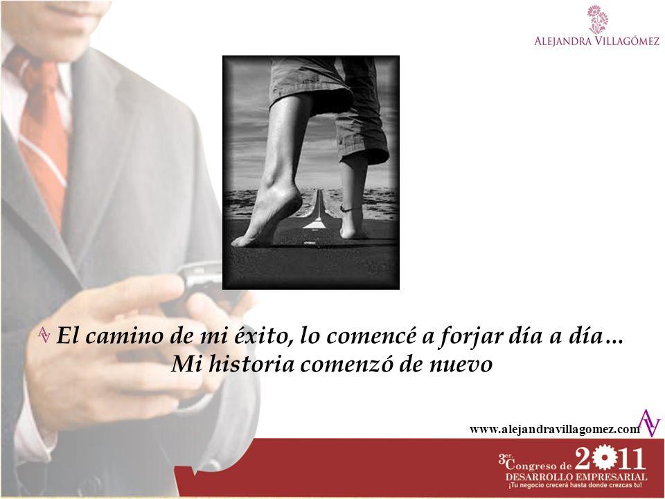 www.alejandravillagomez.com Inicie de 0, ¡tal cual.