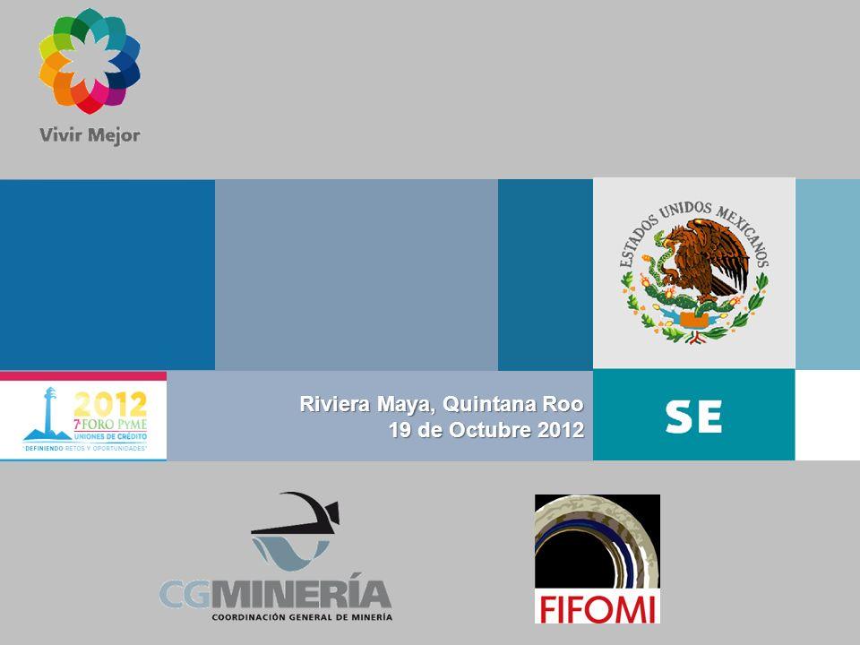 Índice II El Sector Minero en México III IV Indicadores V V Cifras VI Mercado Compromisos VII VIII IX Por que trabajar con FIFOMI Como incrementar la participación de UC Por qué algunas UC han sido rechazadas I I FIFOMI