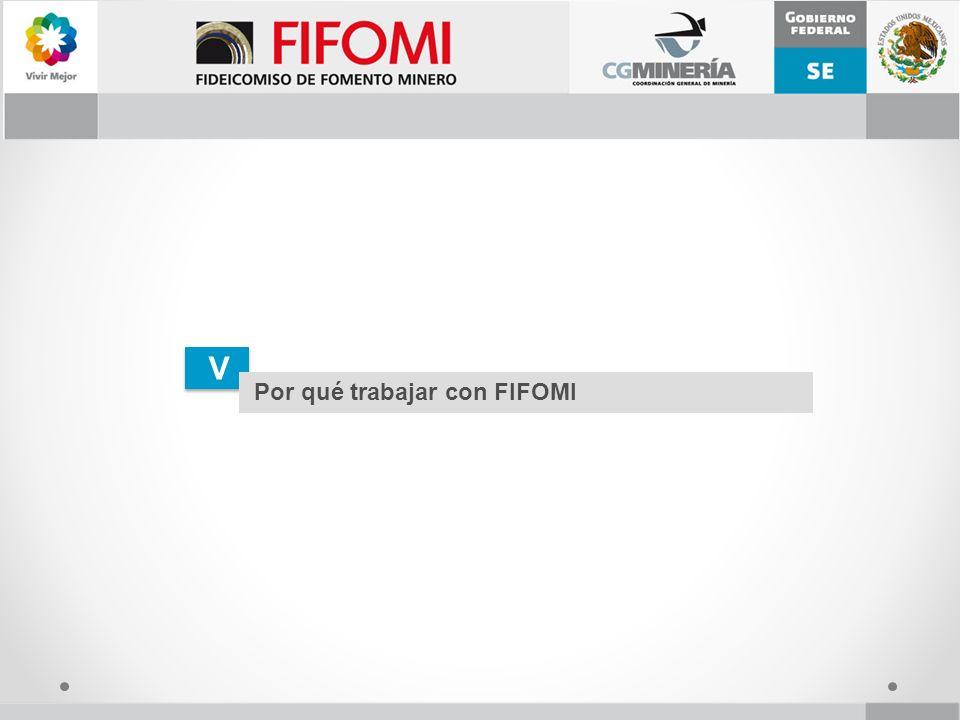 V V Por qué trabajar con FIFOMI