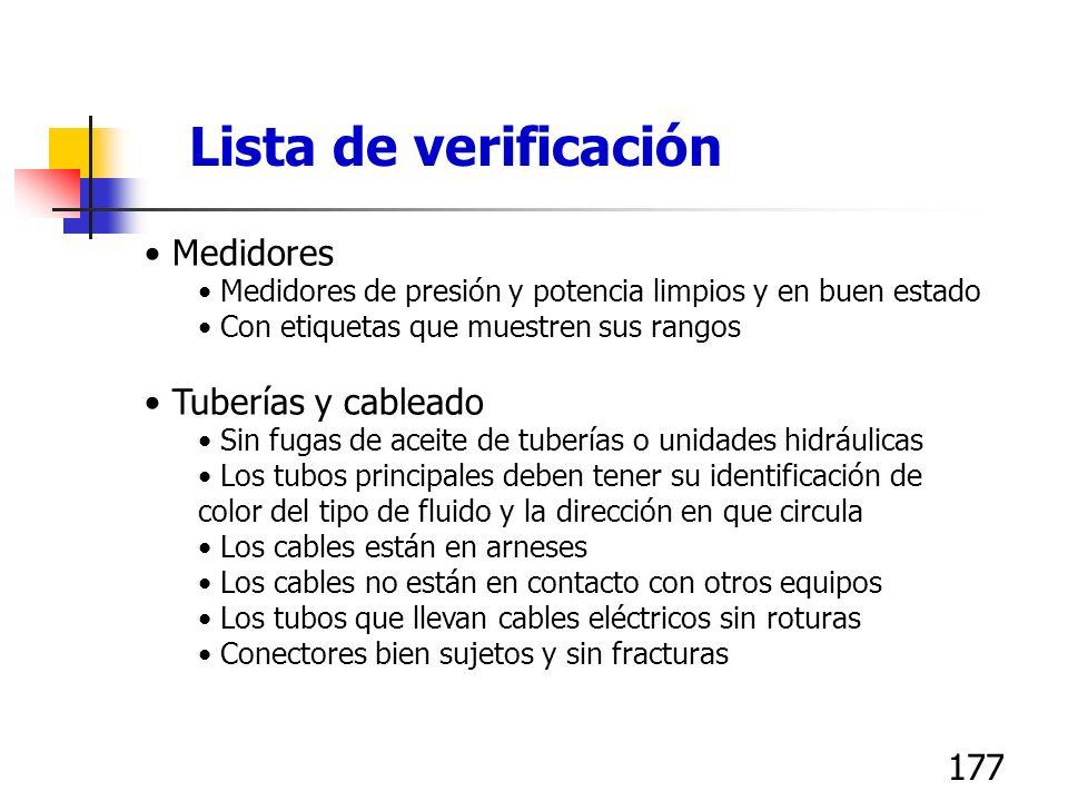 176 Equipo diverso Las partes rotatorias tienen indicaciones direccionales Las cuchillas tienen etiquetas mostrando fechas de inspección y reemplazo L