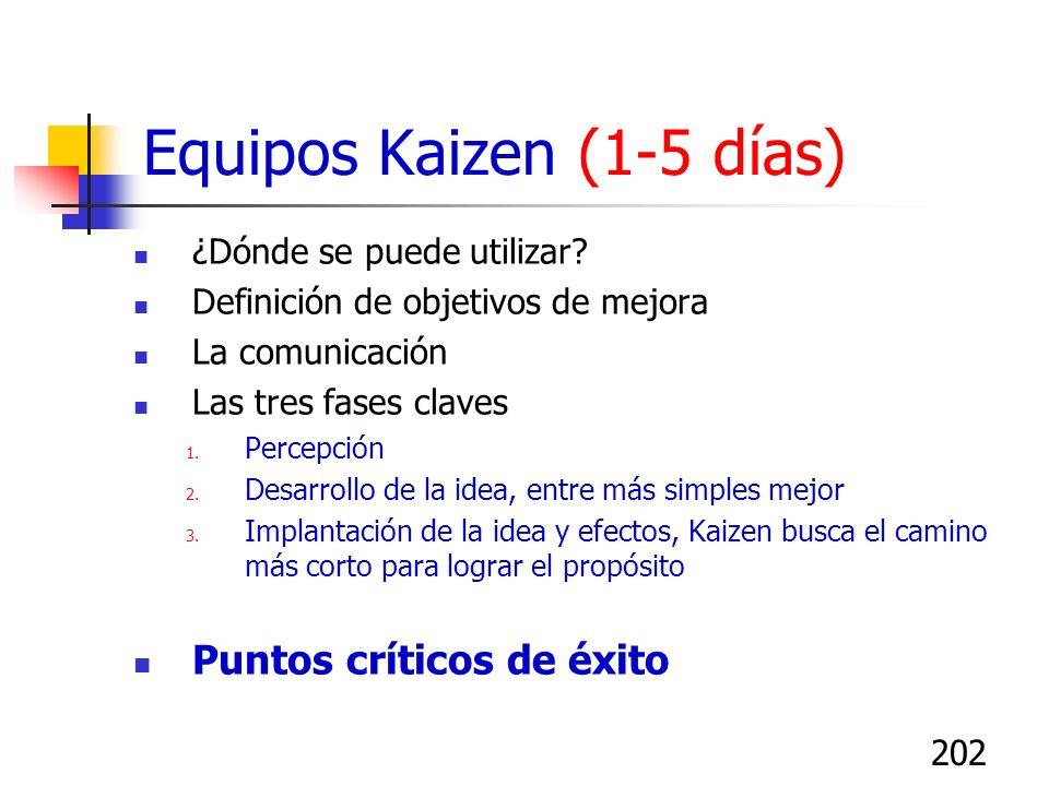 201 Kaizen – Blitz