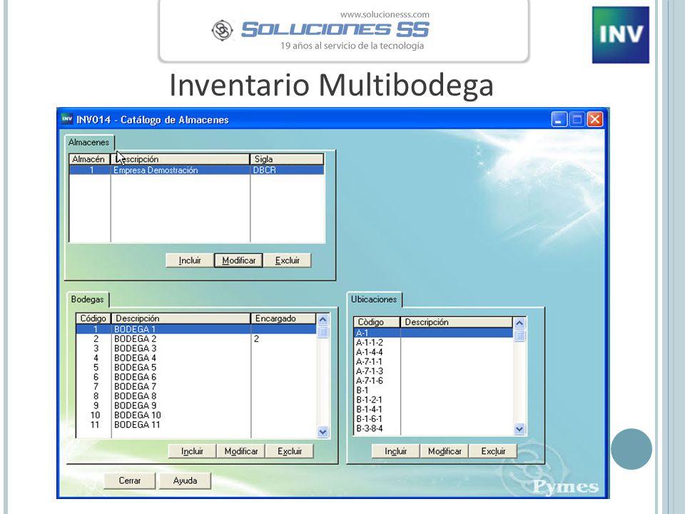 Inventario Multibodega